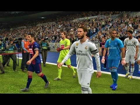 Pes 2019 Real Madrid Vs Eibar Gameplay Pc Youtube