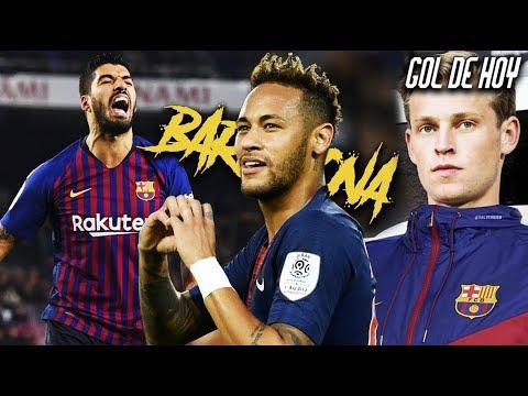 Suárez responde al regreso de Neymar al Barca I De Jong al Barcelona