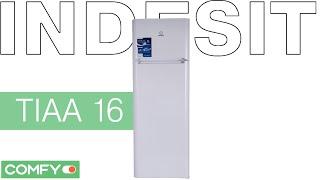 indesit tiaa 16 холодильник в дизайне icon видеодемонстрация от comfy