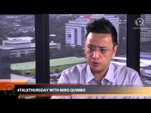 #TalkThursday with Miro Quimbo (part 2)