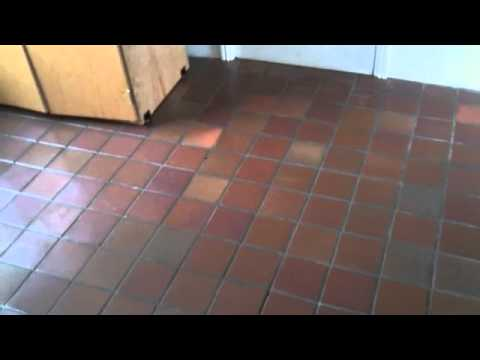 Quarry Tile Cleaning Youtube