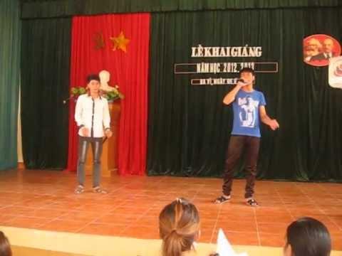 Giá Như Chưa Từng Quen - Quang Hải ft Quang Thành @ THPT Luong The Vinh - Ba Vi