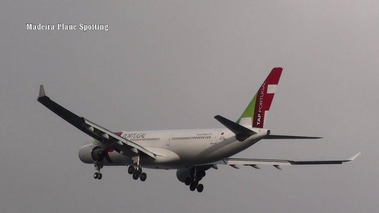 Aeroporto da Madeira Voos SATA Jato Transavia TAP A330 TAP A319
