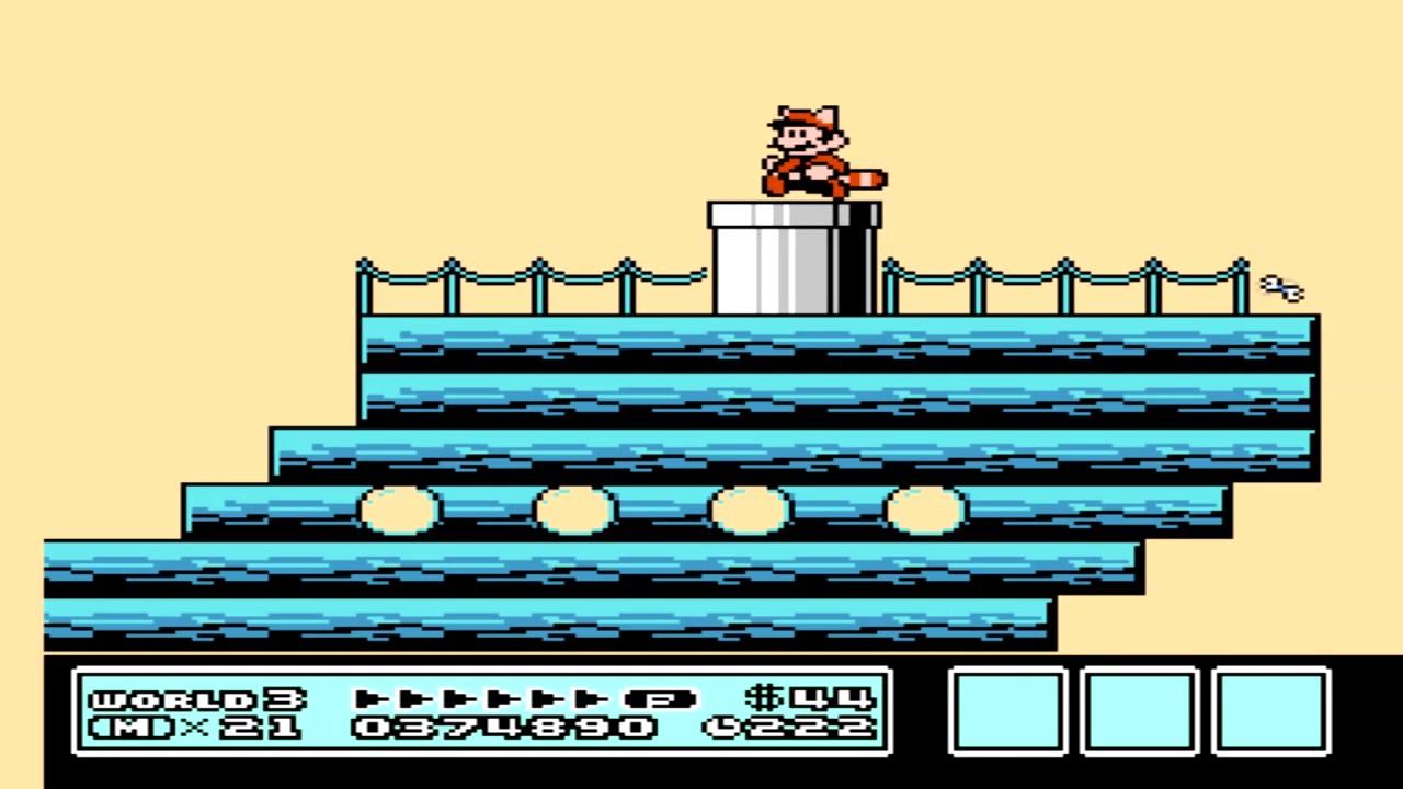 Super Mario 3 World 3 Ship