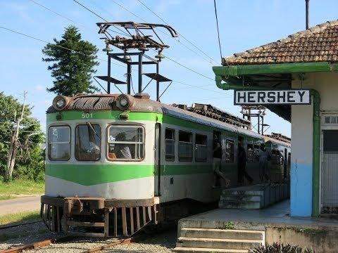Hershey Train (electrico en Cuba)