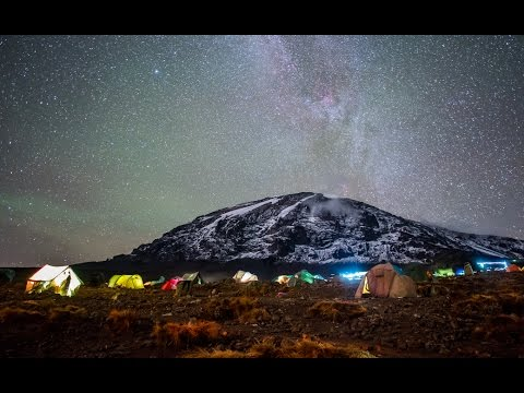 Climb Mount Kilimanjaro with a drone! 4K