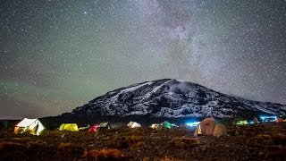 Climb Mount Kilimanjaro with a drone! 4K
