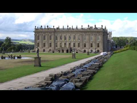 Chatsworth House & Gardens, Derbyshire, England - 31st July, 2017