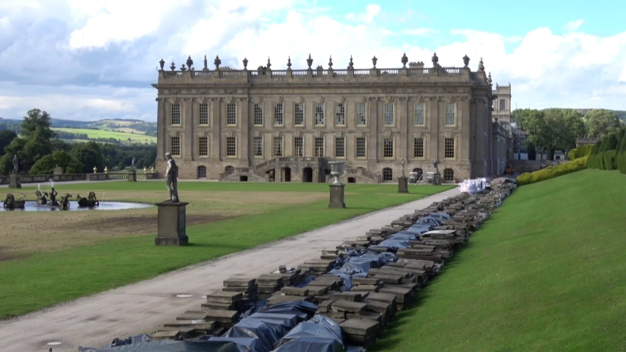 Chatsworth House \u0026 Gardens, Derbyshire, England , 31st July, 2017