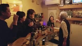 2017年→2018年 カウントダウン 近鉄長瀬駅横「スタンディングバー レモ...