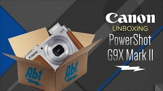 Unboxing: Canon G9X Mark II