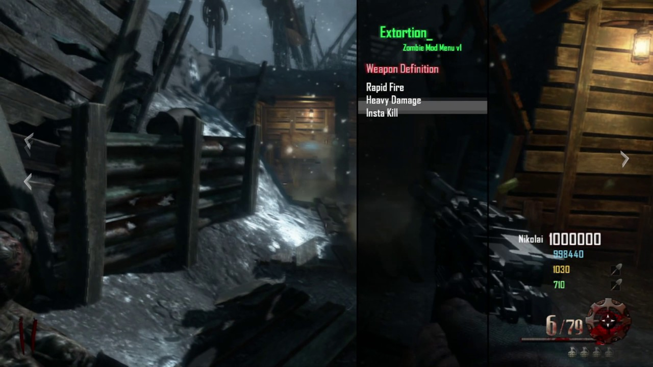 Cod bo2 ps3 zombie hacks | Black ops 2 zombie modding, mod