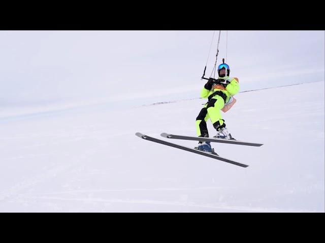 Сноукайтинг на Ямале