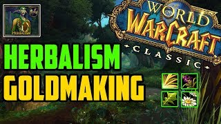 How to Make Gold with Herbalism in Classic WoW
