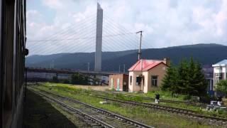 客车K7193次 下城子-绥芬河 进绥芬河站 Passenger train K7193 Xiachengzi-Suifenhe