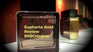 Euphoria Gold for men *NEW* Review