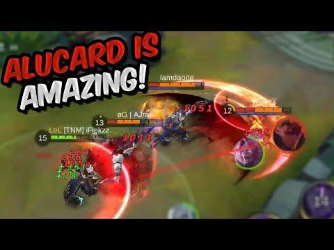 ALUCARD IS AMAZING! - MOBILE LEGENDS