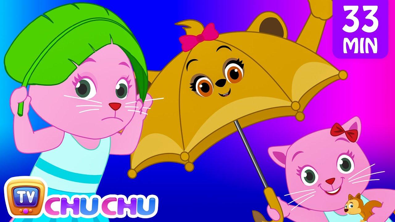 Rain Rain Go Away Nursery Rhyme With Lyrics - Cartoon Animation Songs for Kids | Cutians | ChuChu TV