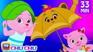 Regen, Regen Gehen Weg, Kinderlied Mit Text - Karikatur-Animations-Lieder für Kinder | Cutians | ChuChu-TV
