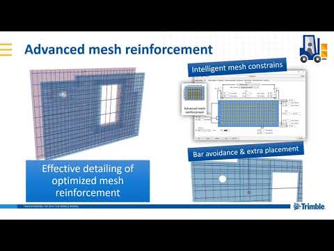 Advanced Mesh Reinforcement - Extension (Tekla Structures 2019i)