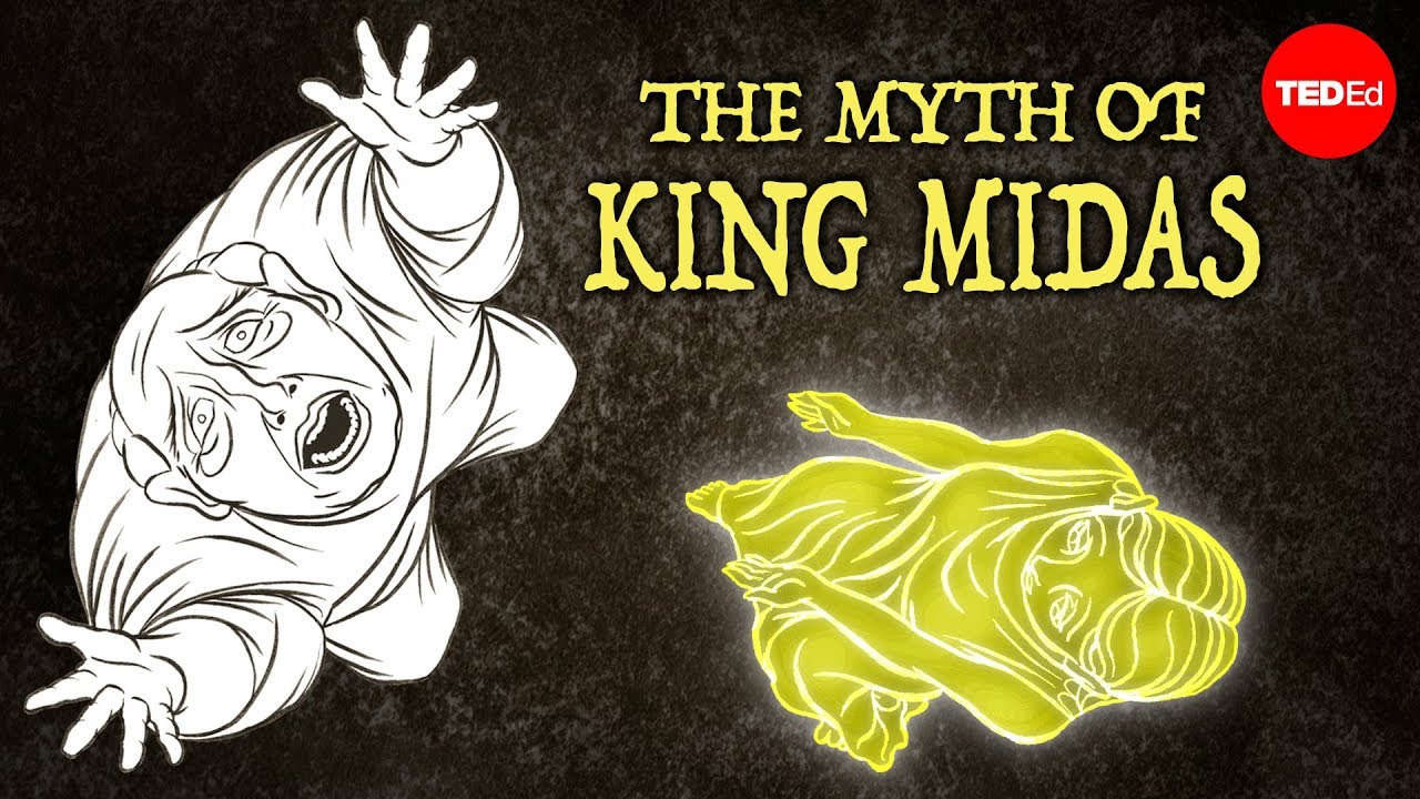 king midas and his golden touch There once was a king named king midas he had everything that he wanted, a  loving wife and a beautiful kingdom called phyrgia, the land of.