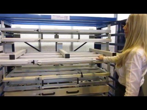 Pull Out Sheet Racking / Storage