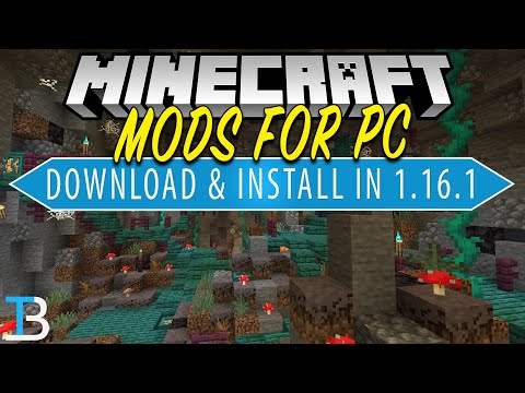 How To Download Install Mods For Minecraft Pc 1 16 1 Java Edition Youtube