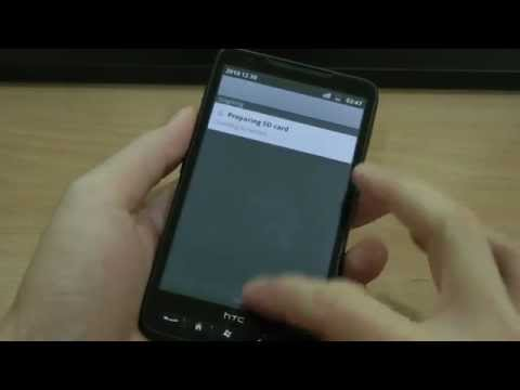 Android 2.3 Gingerbread on HTC HD2 Installation Guide