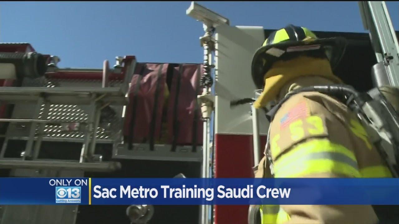 Sac Metro Fire Training Saudi Crew