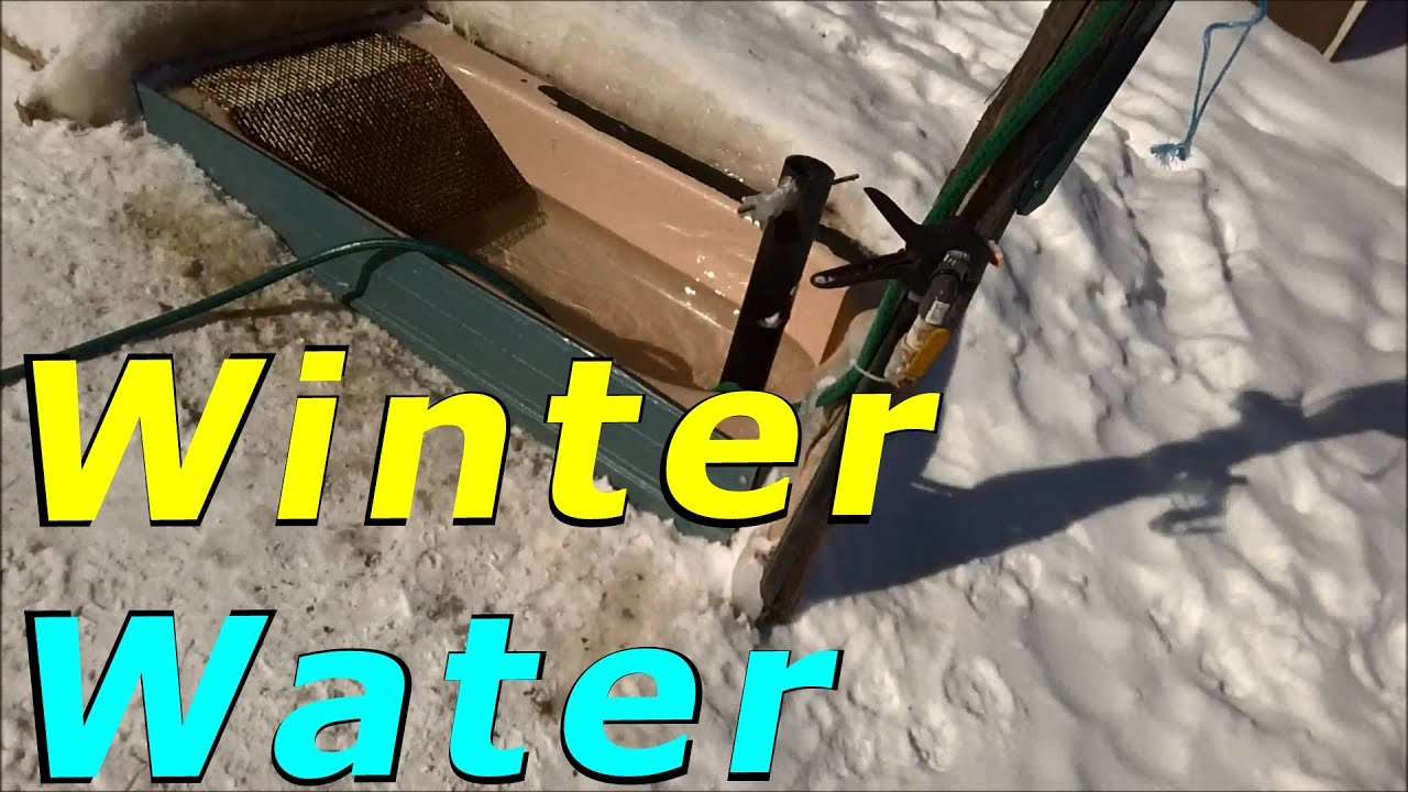 How To Have Outdoor Water For Ducks During The Winter
