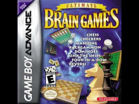 Ultimate Brain Games Music (GBA) - Chess Checker - YouTube