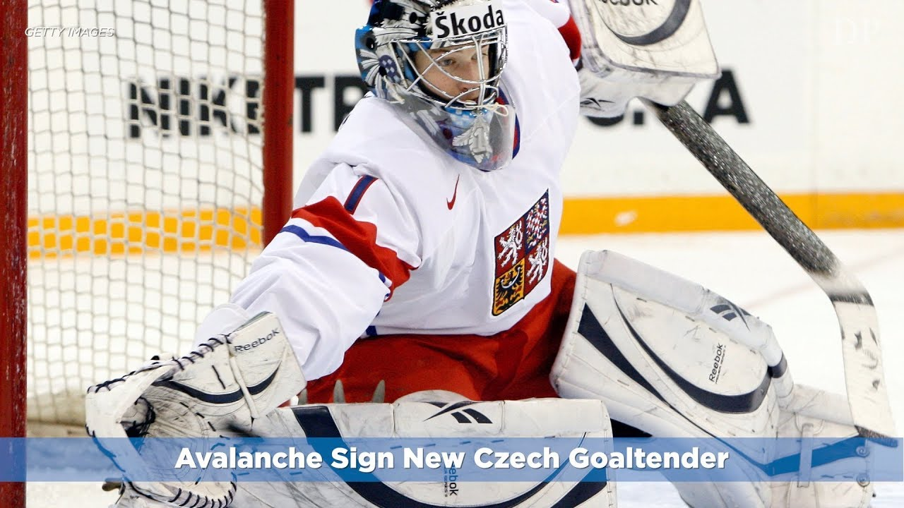 196e70c8654 Avalanche Sign New Czech Goaltender - YouTube