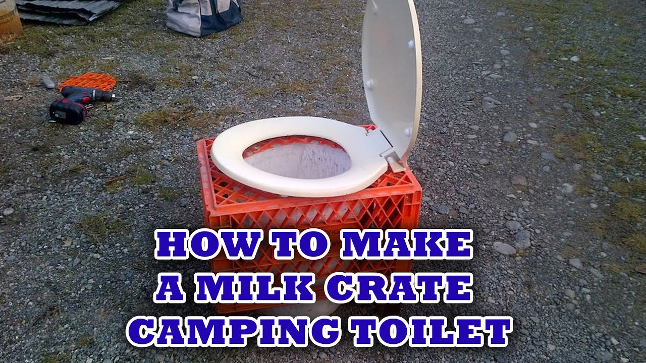 DIY Camp Toilet - YouTube