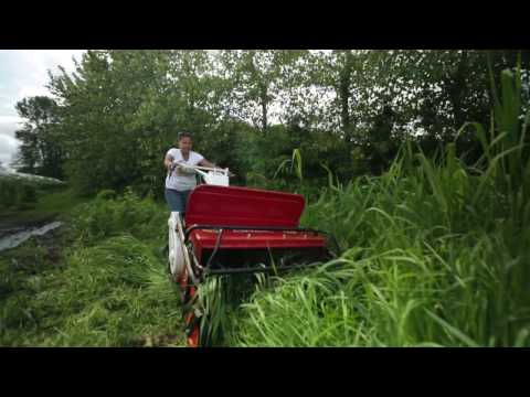 A Nursery and Organic Farm Tests a Walk Behind Flail Mower