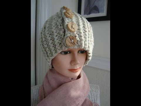 KNIT A BEGINNER TOUQUE HAT - YouTube 2839439a5f3