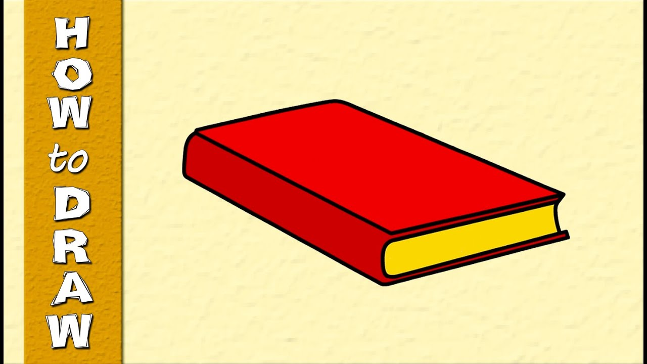 Kids Educational | Web Series | How to Draw a BOOK ...