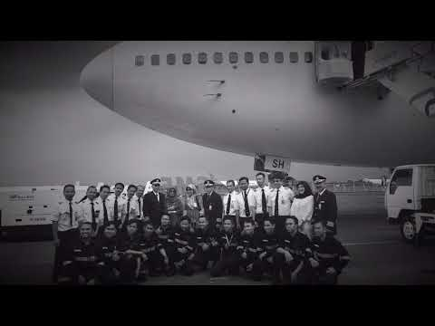 Farewell Boeing 747 400 of Garuda Indonesia