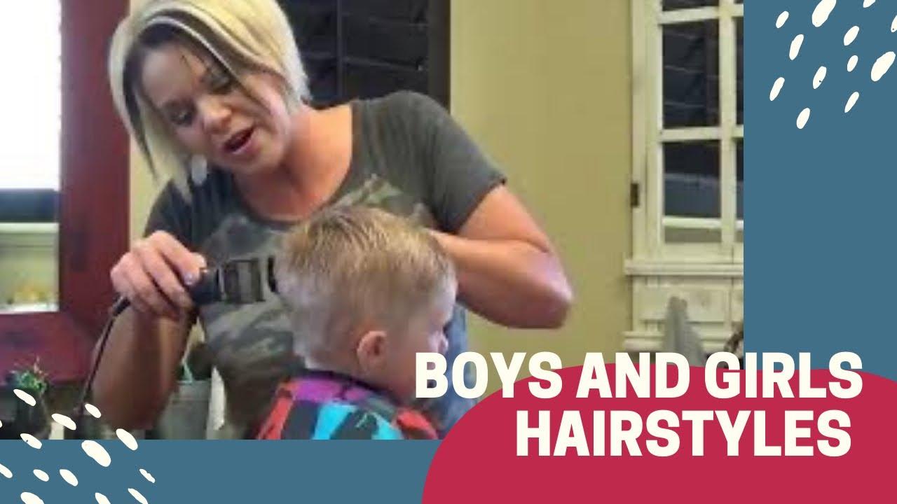 Boys Medium Hairstyles Boys Haircut Youtube