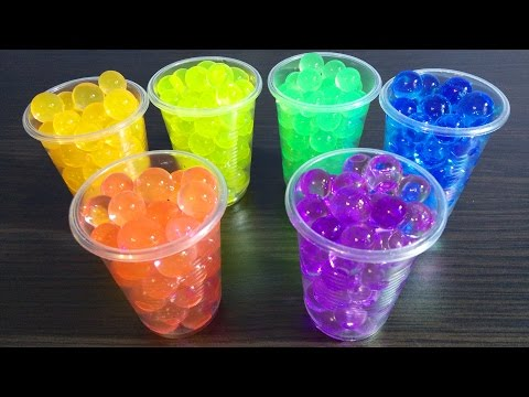Orbeez Water Balz Jumbo Polymer Balls Color for Children | Bubbles & Toys