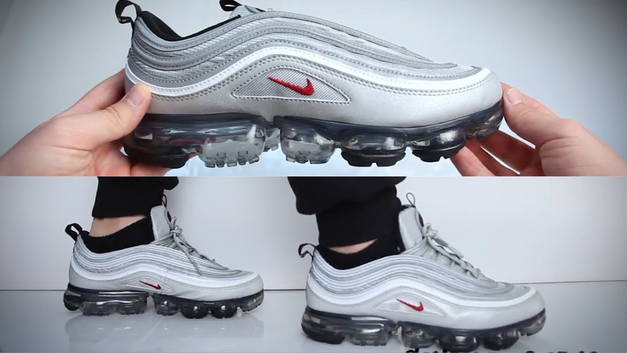 new product d1f00 dad8a Nike Air Vapormax 97 Silver Bullet | UNBOXING | ON FEET