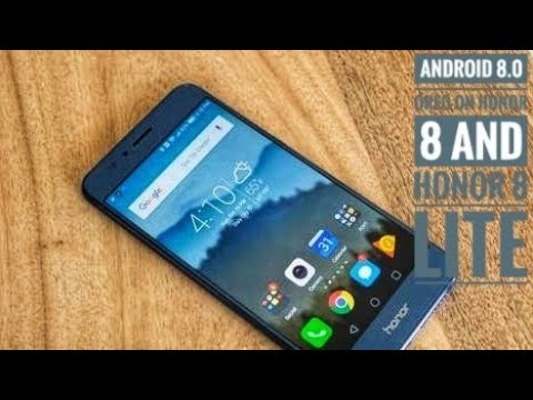 Honor 8 and honor 8 lite Get Android 8 0 Oreo Update