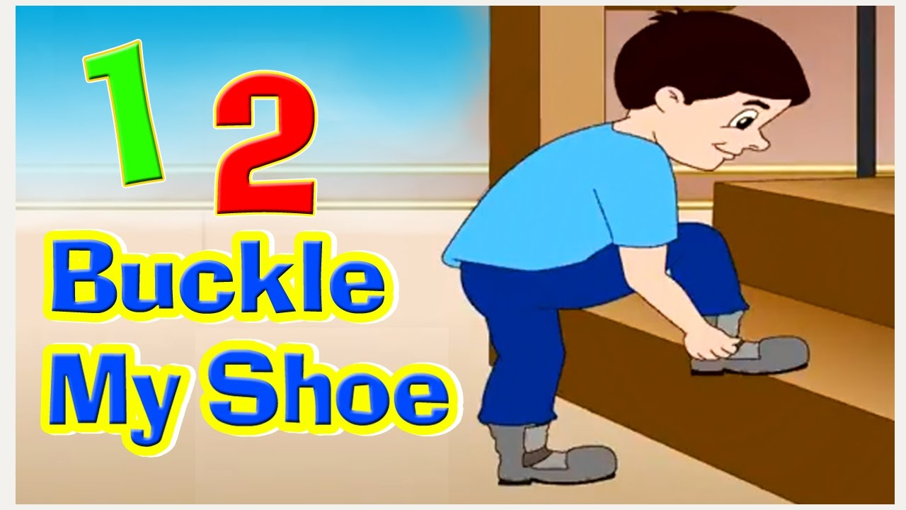picture relating to One Two Buckle My Shoe Printable identified as Just one 2 Buckle My Shoe Nursery Rhyme with Lyrics I Counting Rhymes Children New music, English Rhymes