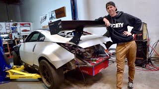 350Z GETS THE BIGGEST WING POSSIBLE!