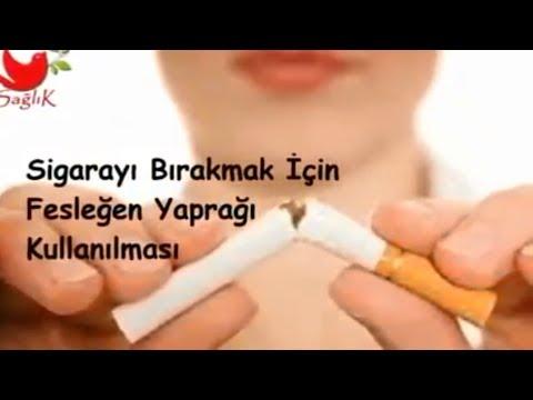 Sigarayı Bırakmak İçin Fesleğen Yaprağı Kullanımı