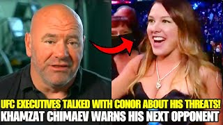 UFC EXECUTIVES talked with Conor McGregor about his THREATS, Khamzat Chimaev is BACK, Sterling/Yan 2
