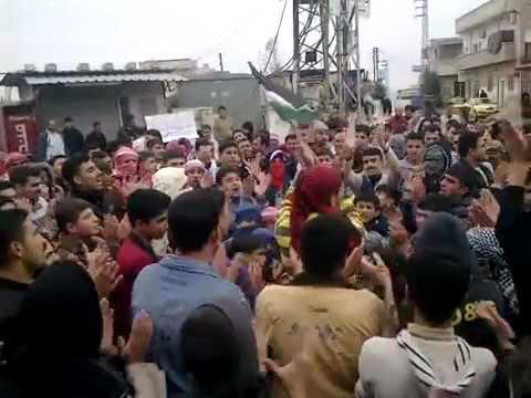شام حماه حي كازو مظاهرات الاحرار في جمعة طرد السفراء 18 11 2011 جـ1