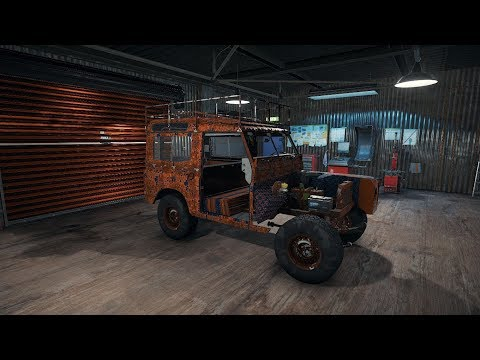 Land Rover Series 3 - Full Junkyard Restoration Timelapse - Car Mechanic Simulator 2018 CMS18