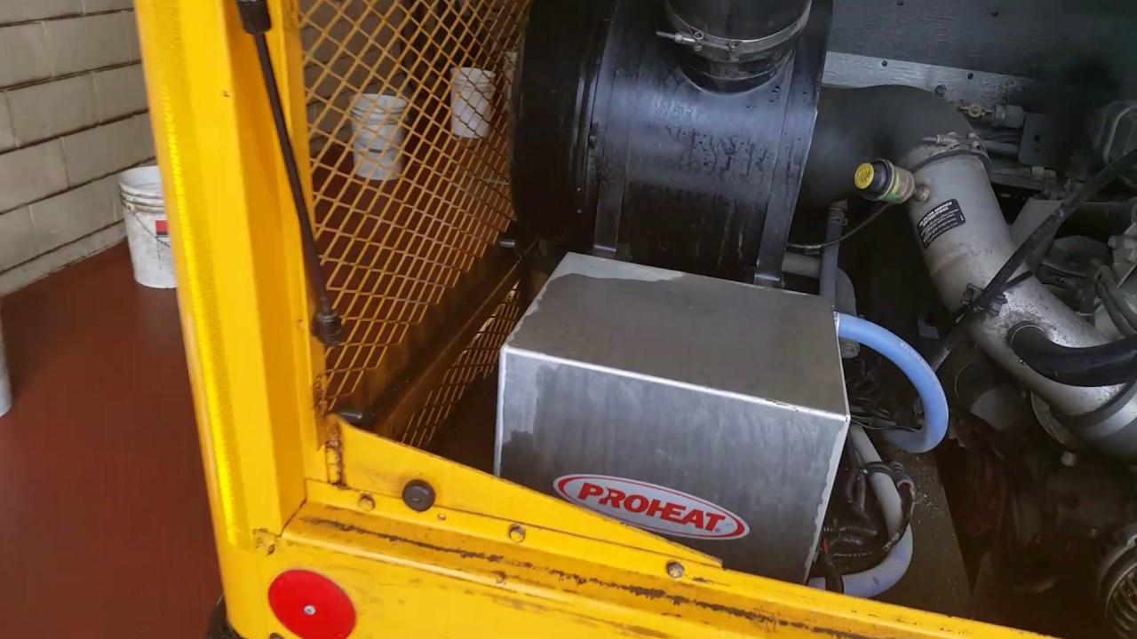 proheat diesel coolant heater thomas school bus