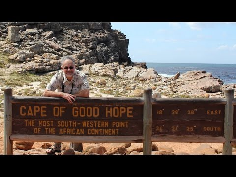 Cape Town, South Africa.Table Mt., Cape of Good Hope, Penguins, Seal Island
