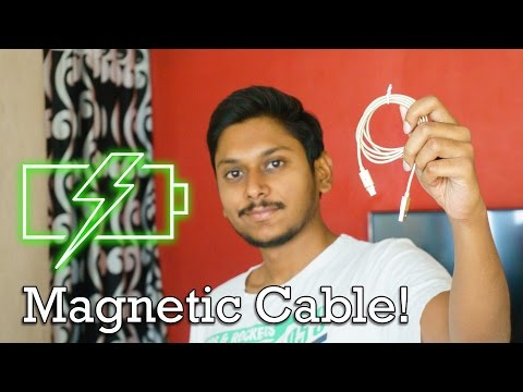 Magnetic Charging Cable for your Phone!